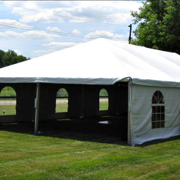 White Frame Tent 30 X 60 A Amp B Party Amp Tent Rental