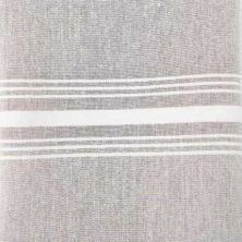 grey chambray stripe napkin