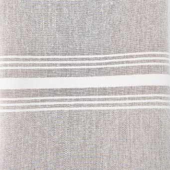 grey chambray stripe napkin