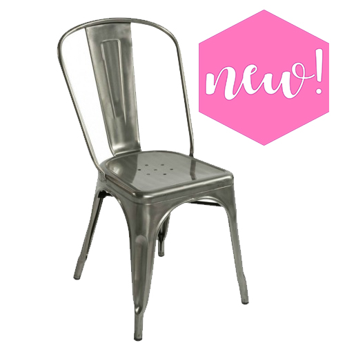 Industrial (Eilo) Gunmetal Chair